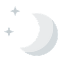 Night Cream Moon Stars Icon