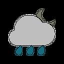 Night Rainy Icon