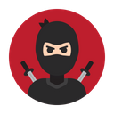 Ninja Warrior Assassin Icon