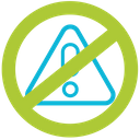 No hazardous waste Icon