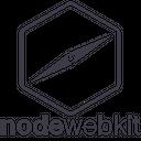 Nodewebkit Line Wordmark Icon