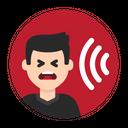 Noise Loud Sound Icon