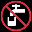 Non Drinking Potable Icon