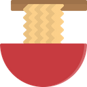Noodle Bowl Chopsticks Icon