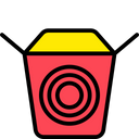 Noodle Box Icon