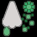 Nose Corona Virus Icon
