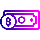 Note Coin Currency Icon