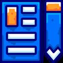 Check Document Pencil Icon