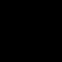 Nuclear Radiation Atom Icon