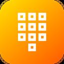 Numpad Tile Numbers Icon