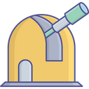 Astronomy Observatory Planet Icon