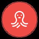 Octopus Sea Animal Icon