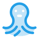Octopus Sea Animal Icon