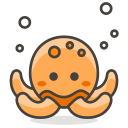Octopus Sea Creature Icon