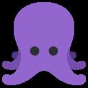 Octopus Aquztic Animal Icon