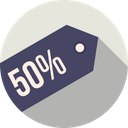 Offer Label Ribbon Icon