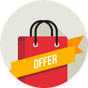 Offer Ribbon Carry Icon