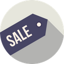 Offer Sale Label Icon