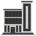 Office Building Architecture Condo Icon