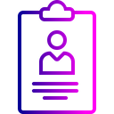Office Employee Letterpad Icon