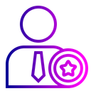 Office Employee Star Icon