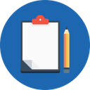 Office Letterpad Writingpad Icon