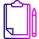Office Letterpad Writingpad Icon