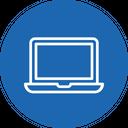Office Stuff Laptop Icon