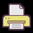 Office Stuff Print Icon