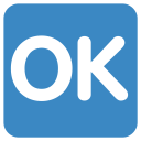 Ok, Button Icon