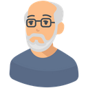 Old Man Old Age Senior Citizen Icon
