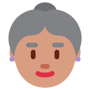 Old Woman Medium Icon