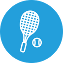 Olympic Game Tennis Icon