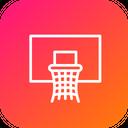 Olympics Game Basketball Icon