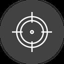 Olympics Game Shooting Icon