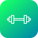 Olympics Game Weightlifting Icon
