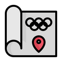 Olympics Location Icon