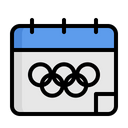 Olympics Schedule Icon