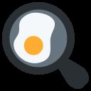 Omlet Egg Frying Icon