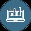 Online Analytics Processing Icon