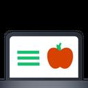 Online Apple Site Apple Fruit Icon