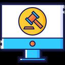 Online Auction Hammer Icon