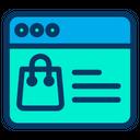 Bag Ecommerce Online Icon