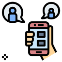 Chat Onilne Application Icon