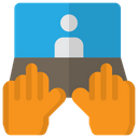 Online Collabrotion Icon