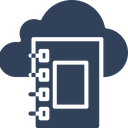Cloud Dairy Diary Jotter Icon
