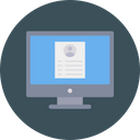 User Profile Cv Icon