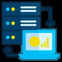 Online Database Management Icon
