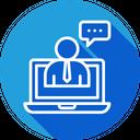 Online Help Supprt Icon