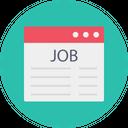 Job Interview Online Icon